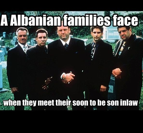 Good luck to my future hubby. Albanian problems