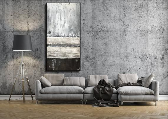 Original Abstract Art Extra Large Wall Art Modern Art Etsy In 2020 Interior Design Kitchen Contemporary Large Wall Decor Furniture Design Modern