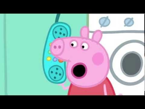 Peppa pig hangs up phone - one of the best comedy animations around! Well written, well voiced and well animated.