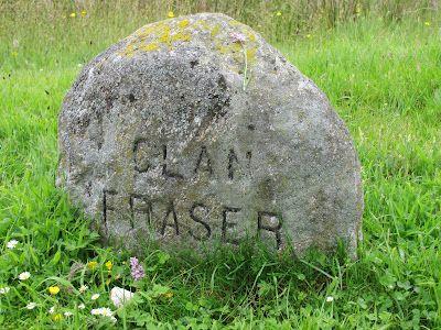 Fraser clan stone at Culloden