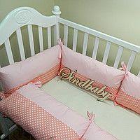 """Бортик-защита для детской кроватки """"Коралл"""""""