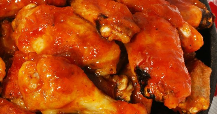 These Dragon Fire Chicken Wings are inspired by the new Disney movie, Pete's Dragon. They are baked until crisp and then tossed in a fiery sweet and spicy sauce.
