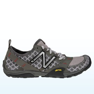 The NB Minimus trail runners are my favorite all around athletic shoe (CrossFit, boot camp, running, everything!). I wear the NB Minimus cross trainers for serious lifting (they really do set you back on your heels) and Nike Free for runs longer than 6-8 miles (when my feet and hips want more shock absorption).