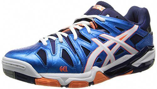 Asics Men's Gel Sensei 5 Volleyball Shoe,BlueWhiteOrange