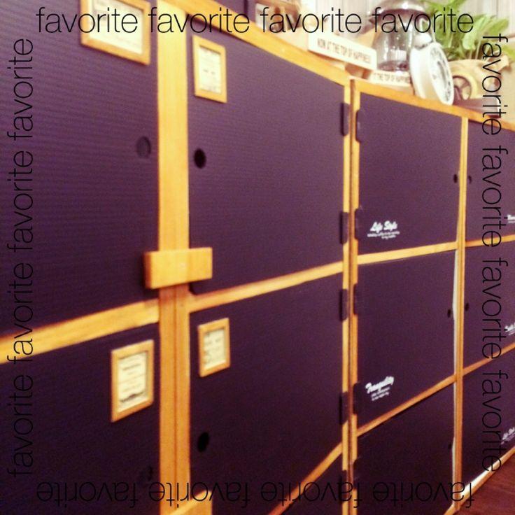 みんなの100均グッズをリメイクした「カラーボックスの扉」がおしゃれ ... 出典img1.roomclip.jp