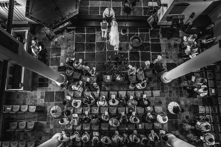 kerk trouwceremonie