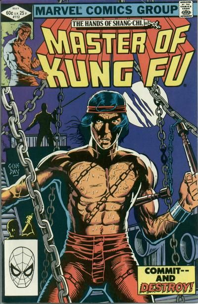 Master of Kung Fu # 112 by Gene Day