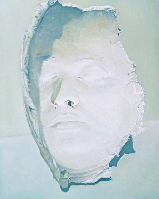 Hollow Face. 2009. 150x120 cm. Oil on canvas.