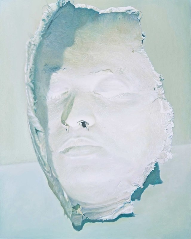 Hollow Face. 2009. 150x120 cm. Oil on canvas.