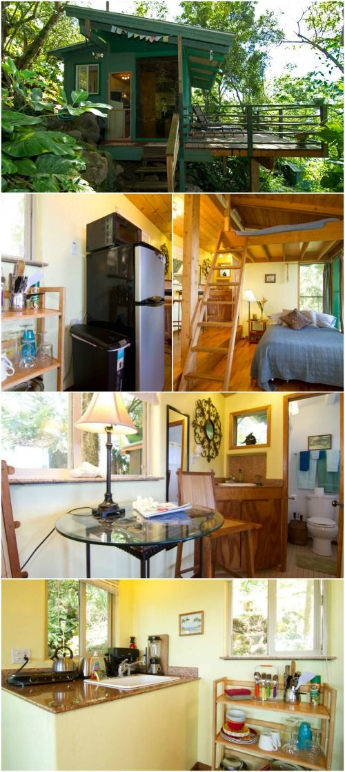 Stay at the Tiny and Eco-Friendly Sunset Beach Treehouse Bungalow in Haleiwa, Hawaii - If you're lucky enough to find yourself headed to Hawaii for a visit, we have an Airbnb tiny house rental that you should definitely check out. The Sunset Beach Treehouse Bungalow is located in Haleiwa, Hawaii on the North Shore of Oahu. The home is 250 square feet and set back in lush foliage above the beaches that are known for some of the best surfing in the world. You'll live like a local during your…