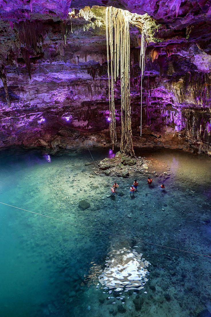 Swim in Mexico's cenotes.