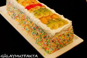gülay mutfakta: Meyveli Baton Pasta