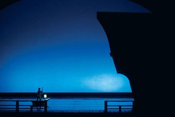 """""""Madame Butterfly"""" (1999), fot. z archiwum Teatru Wielkiego Opery Narodowej"""