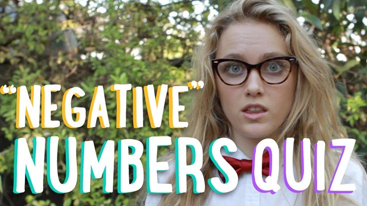 Adding Negative Numbers | YouTube Challenge | PBSMathClub (+lista de rep...