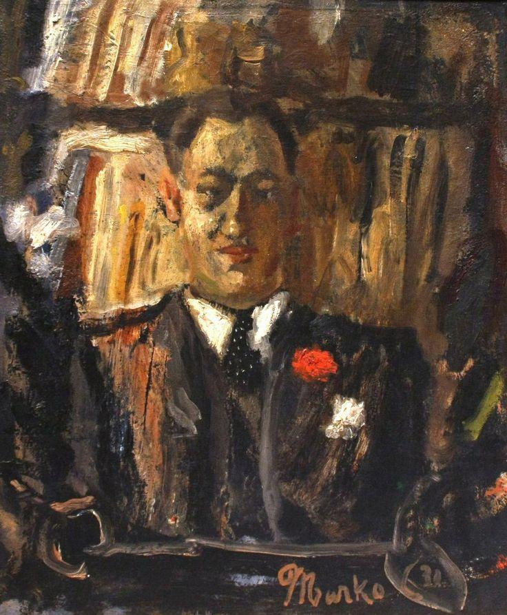 """Portrait of Milan Jovanović Stojimirović"" by Marko Čelebonović"