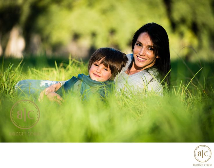 Bridget Corke Photography - Outdoor Mother and Son Johannesburg Shoot: