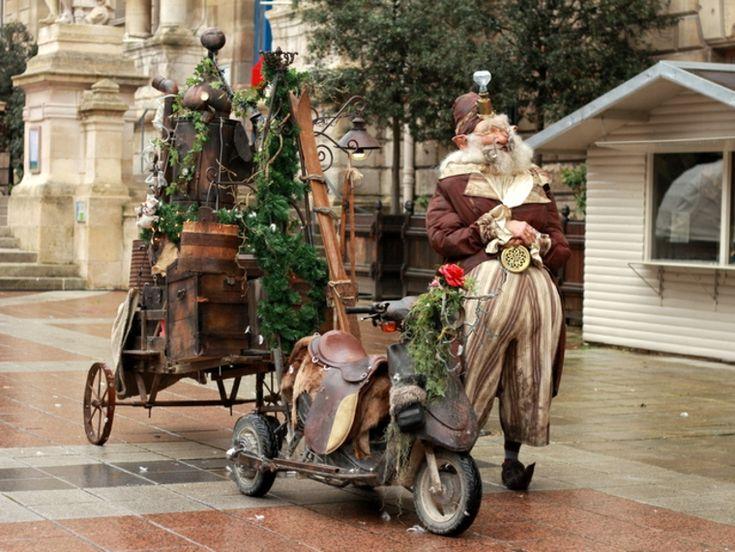 nuevo estilo papa Noel steampunk