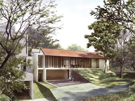 Tanah Teduh, housing estate is a modern and environmentally-friendly development, comprises 20 individual houses, a lake, a pool and a jogging track, all meticulously arranged on an undulating, two-hectare plot of land.
