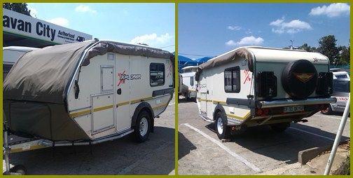 Lakókocsi, lakóautó Dél-Afrikában - lakókocsi szafarira