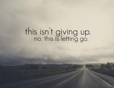 Letting Go of Words | mon de phase, mon de histoire
