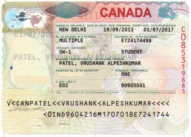 Canada visa for study abroad PATEL NAVINKUMAR KANTILAL - canadavisa resume builder