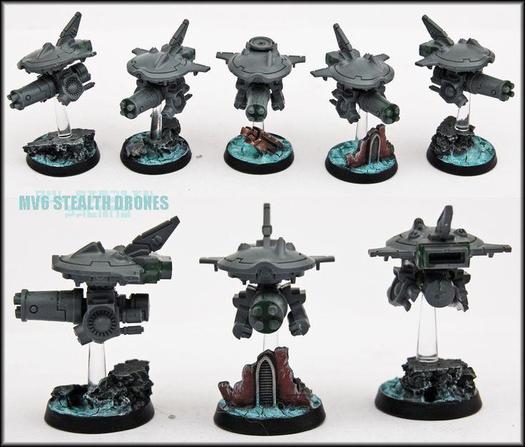 Stealth Attack Drones