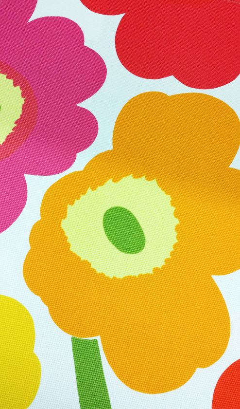 The iconic Marimekko Unikko (Poppy) pattern celebrates its 50th anniversary this year.