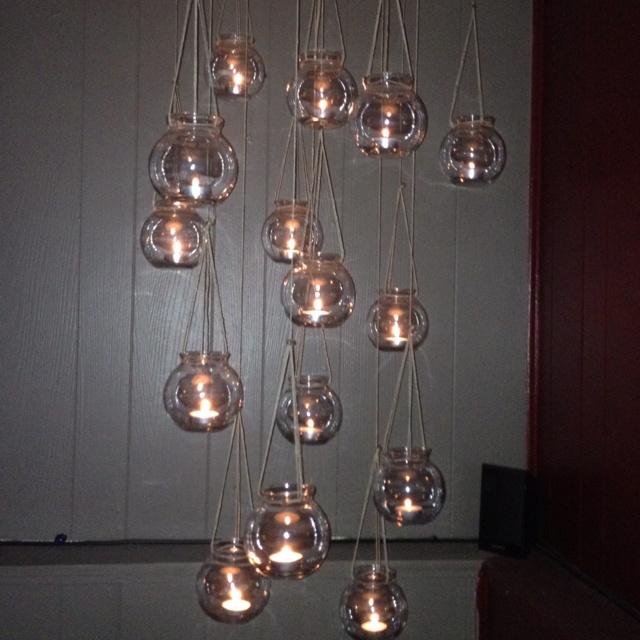 Mer enn 25 unike ideer om homemade chandelier p pinterest my homemade chandelier aloadofball Choice Image