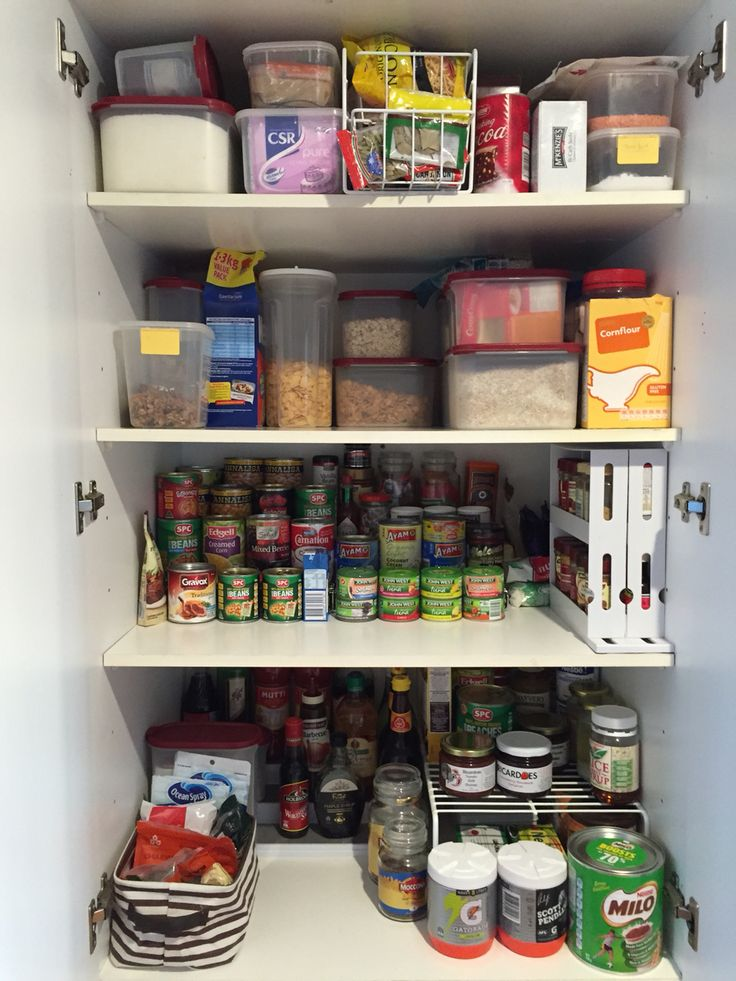 Pantry Organised It S Amazing What A Few Cheap Kmart