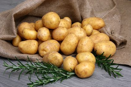 Potatoes soaked in salt water for 20 minutes before baking will help them bake faster!