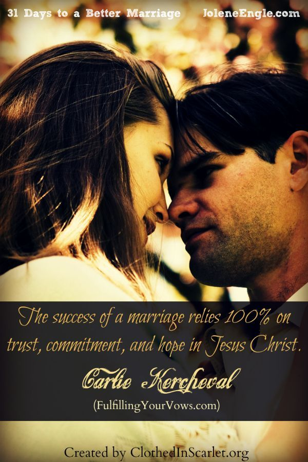Best love Sayings & Quotes    QUOTATION – Image :    Short love quote – Description  The success of a marriage relies 100% on trust, commitment, and hope in Jesus Christ. – Carlie Kercheval  Sharing is Sexy – Don't forget to share this quote with those Who... - #Love https://quotesdaily.net/love/quotes-about-love-the-success-of-a-marriage-relies-100-on-trust-commitment-and-hope-in-jesus-ch/