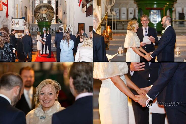Wedding ceremony and vows