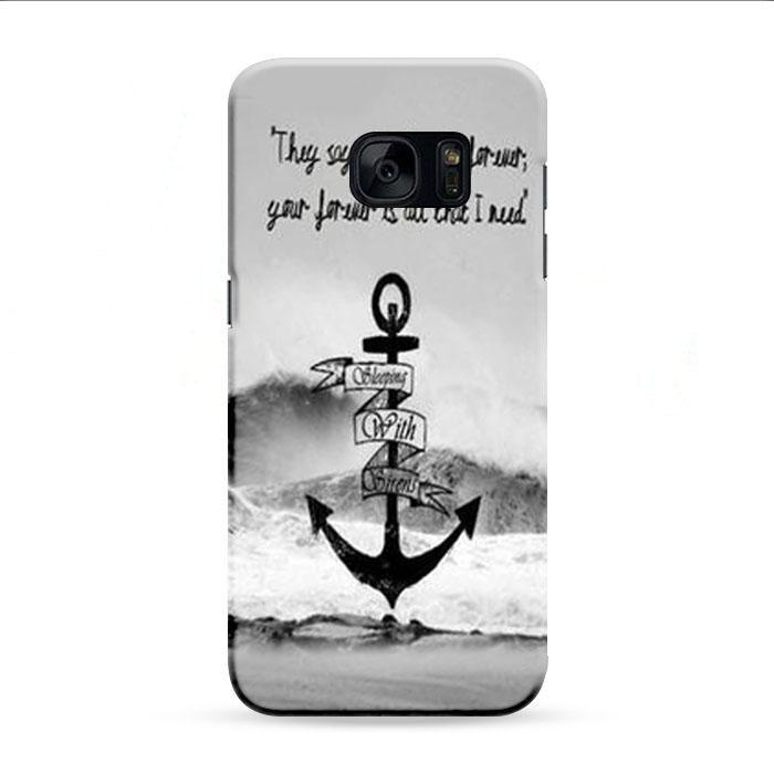 Sleeping With Sirens Ice Samsung Galaxy S7 Edge 3D Case