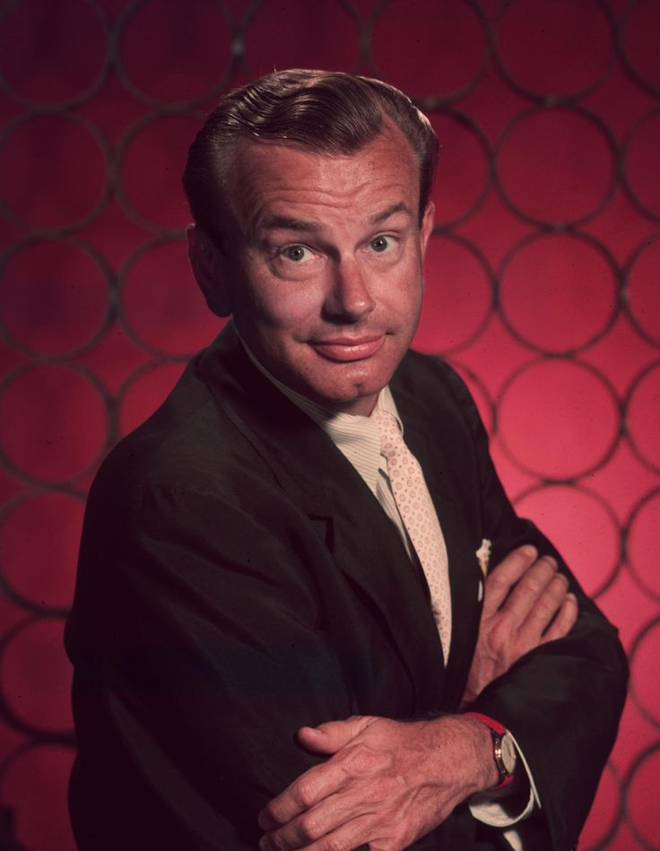 """JACK PARR.  Best known for his stint as host of """"The Tonight Show"""" from 1957 to 1962"""