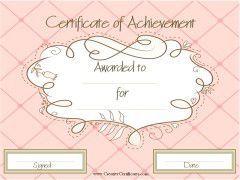 pink award