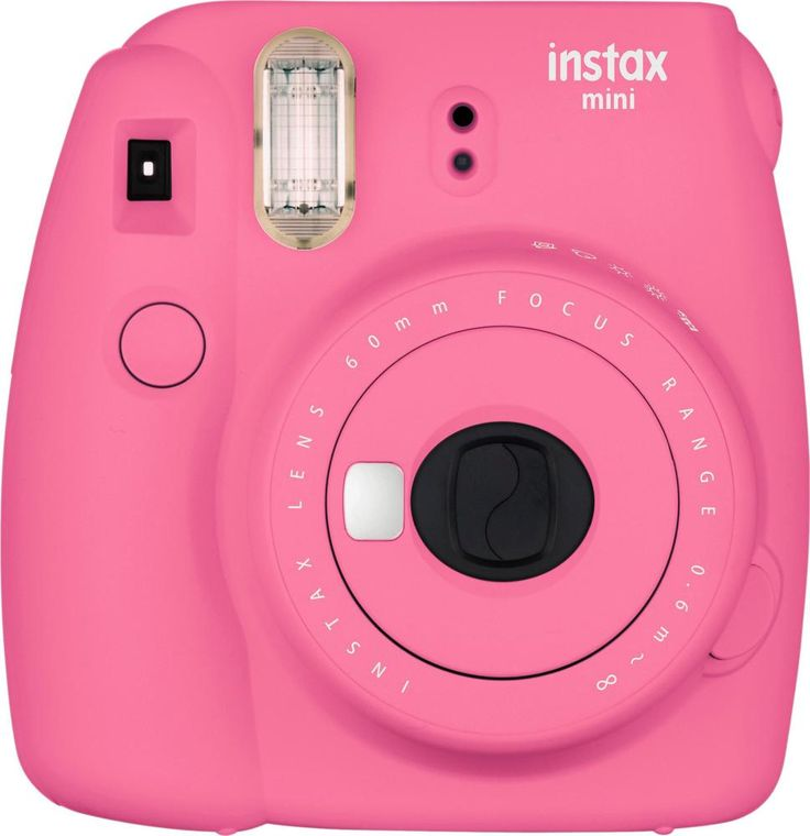 Fujifilm - instax mini 9 Instant Film Camera - Flamingo Pink
