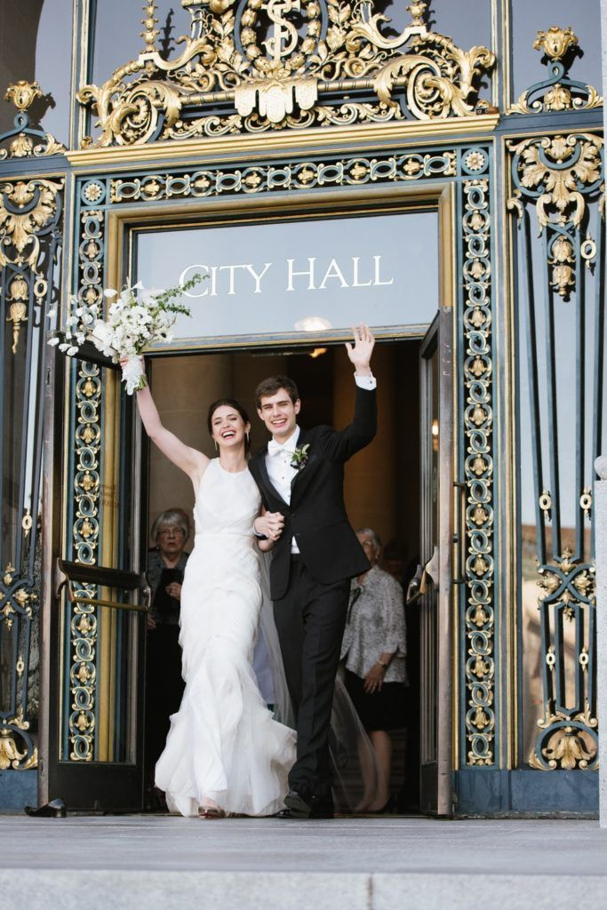 City Hall Wedding Photo Wedding Planning Design By Downey Street Events In 2020 City Hall Wedding Photos Wedding San Francisco City Hall Wedding