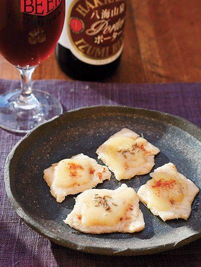 香ばしく焼いた酒粕はビールやワインにも合う!|『ELLE a table』はおしゃれで簡単なレシピが満載!