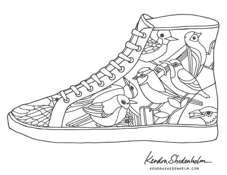 362 Best Images About Adult ColouringShoesFeetsHands Zentangles On Pinterest