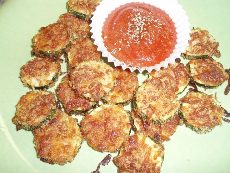 Parmesan Zucchini Crisps! Crispy, cheesy crusted little bites of zucchini heaven :-D Healthy snack or side dish that is IRRESISTIBLE! {Repinning because I noticed I misspelled crisps yesterday- the recipe is in fact for crispy zucchini bites not a gang known as the 'crips':))  unBearablyGood