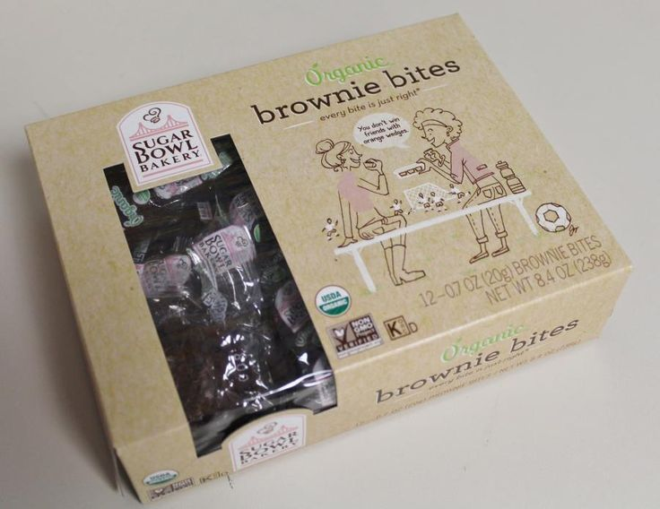 Sugar Bowl Bakery is using packaging made from recycled fiber and cellulose-based plastic for its organic products.