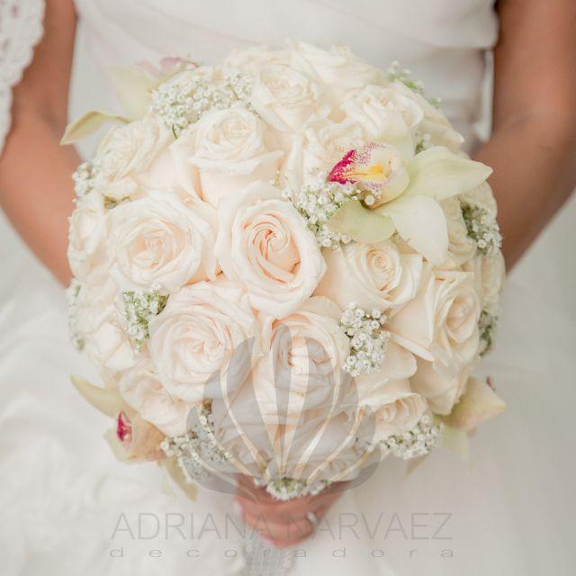 Bouquet en rosas