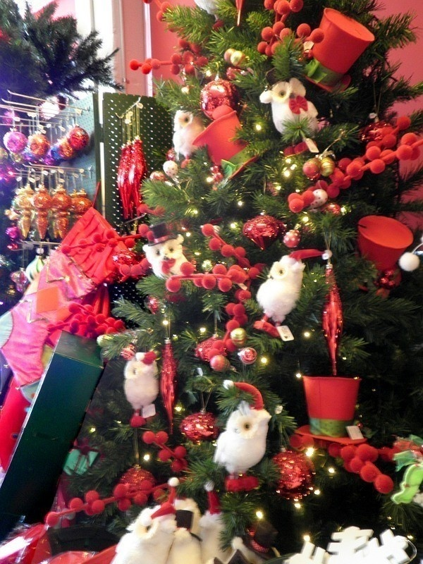 Modern Red Christmas Decoration Ideas