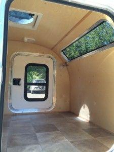 DIY DNM Teardrop Trailer Kit interior