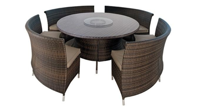 Jupiter 5 Piece Outdoor Dining Setting