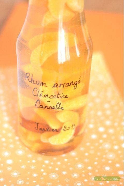 Rhum arrangé clémentine cannelle (1)