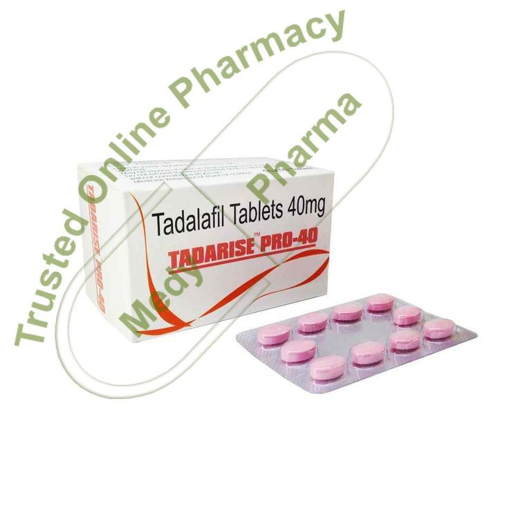 Buy Tadarise Pro 40mg Tadarise Pro 40 Mg is another name of Tadalafil. It is a medium potency medicine to cure erectile dysfunction. It relaxes and improves blood flow to certain parts of the body. It's most common use is in improving sexual performance in males.   Class and Mechanism of Action Tadalafil is a phosphodiesterase type 5 inhibitor.   #buytadarise40 #cialisgenericotadarise #doestadarisework #effetticollateralitadarise #extrasupertadarisekaufen #genericciali