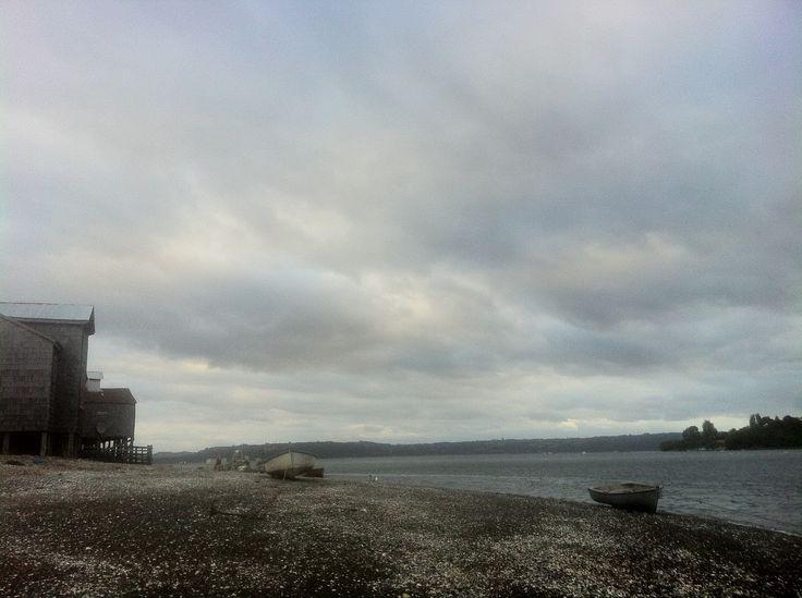 Localidad de San Juan, Comuna de Dalcahue. Isla Grande de Chiloé.