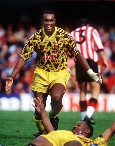 David Rocastle and Ian Wright | Flickr - Photo Sharing! 1991.  Two of Arsenals favourite sons.