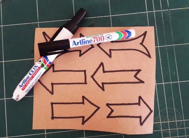 arrow sign template 2